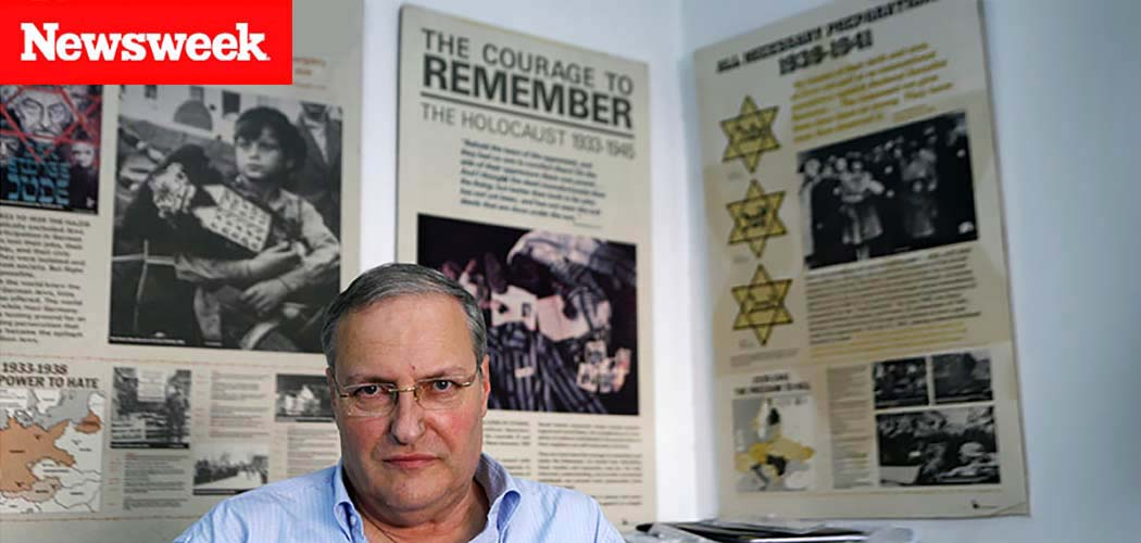 Nazi Hunter Efraim Zuroff: Focus On Lithuania Chronicled In Newsweek
